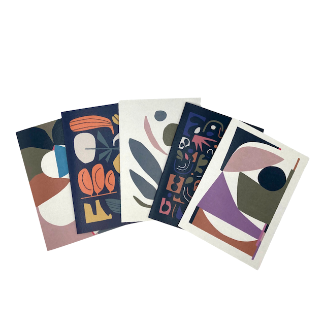 Maluda Greeting Card - Pack of 5