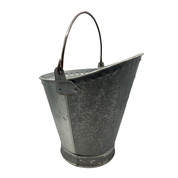 Galvanised Scuttle Bucket