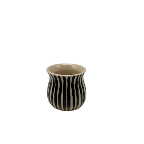 Striped Egg Cup