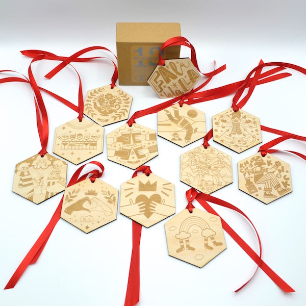 12 Days of Christmas Retold - Set of 12
