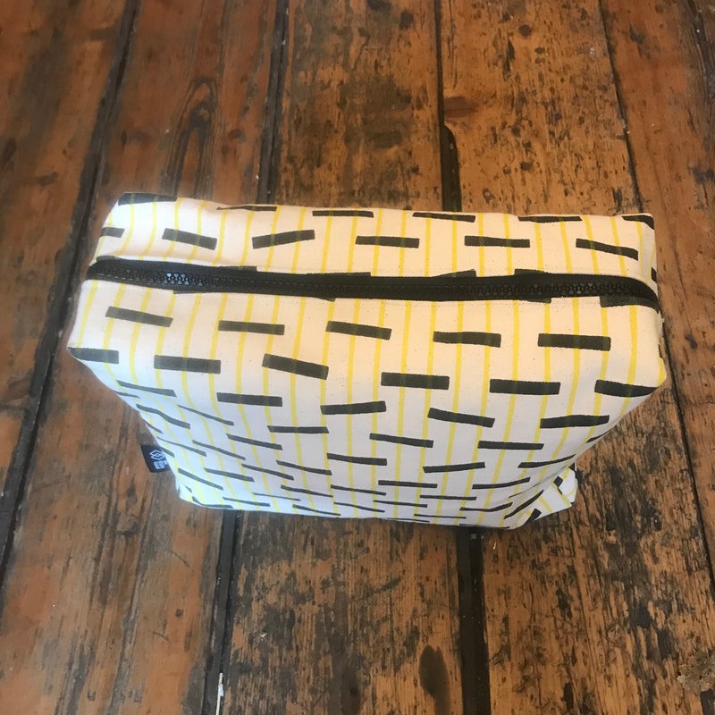 Large Screen printed Wash bag
