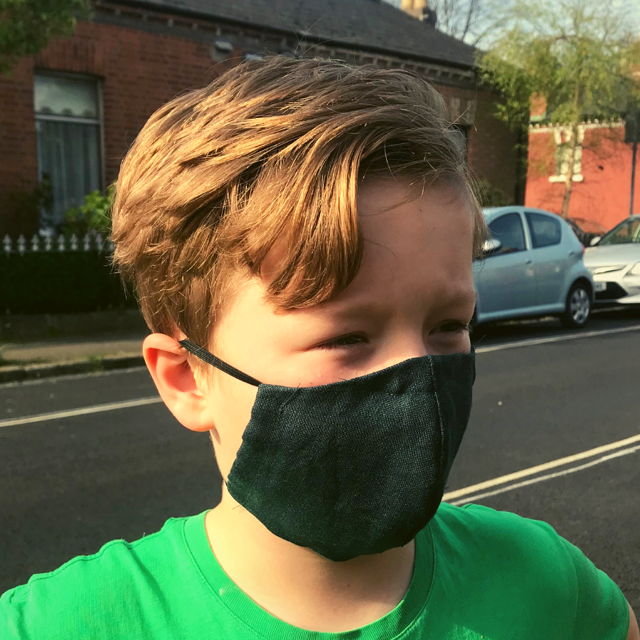 Cloth masks: Washable Kids Facemask