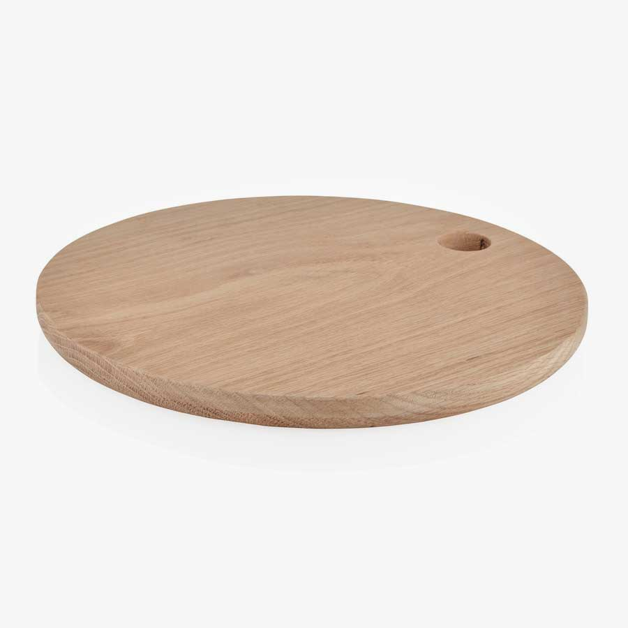 Oak Circular Serving Board