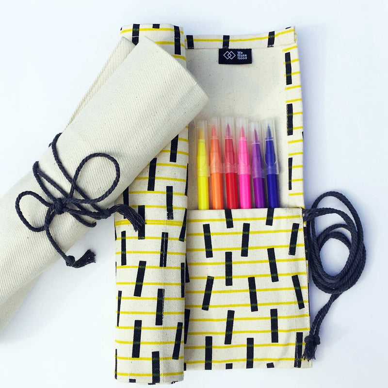 Screenprinted Pen Roll