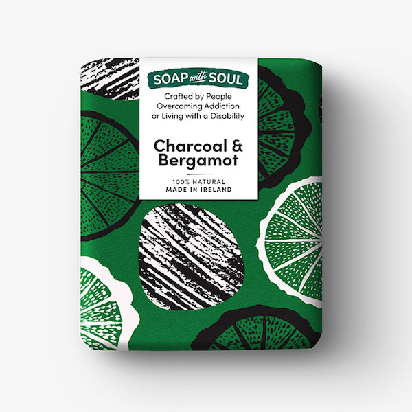 Soap With Soul - Charcoal & Bergamot