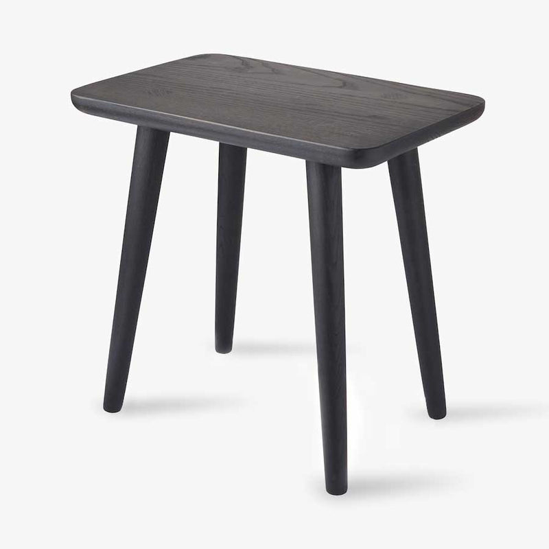 Wedge Table Ebonised (Oval)