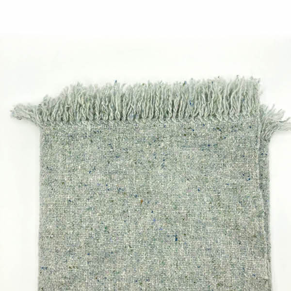 Handwoven Blanket - Light Blue