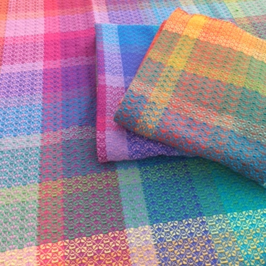 Handwoven Throw - Polychromatic