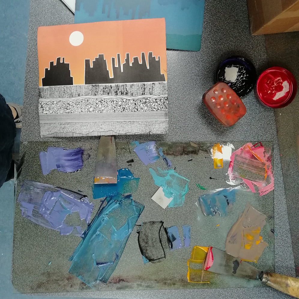 Workshop: Drypoint Printmaking for Kids with Artist Clare Henderson