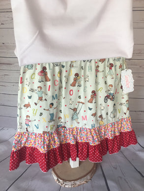 Skirt - Playground Ruffle Skirt