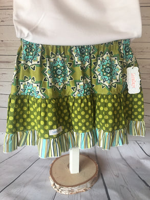 Skirt - Bohemian Ruffle Skirt