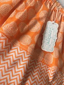 Skirt - Orange Mum Chevron