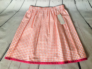 Skirt - Orange/Pink Starburst