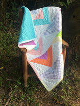 Quilt - Triangles in Citrus