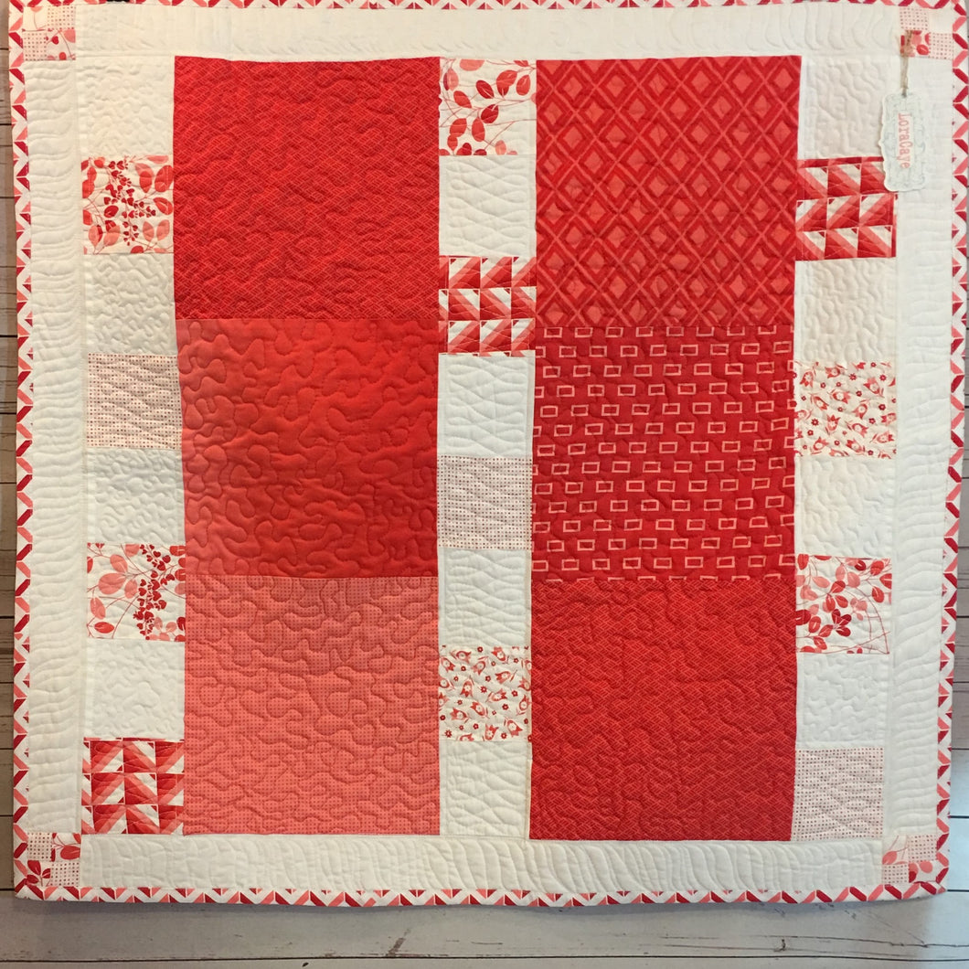Quilt - Red Pink 2