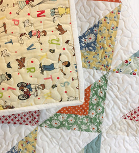 Quilt - Hop Skip Jump Triangles