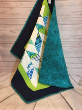 Quilt - Modern Lime/Navy
