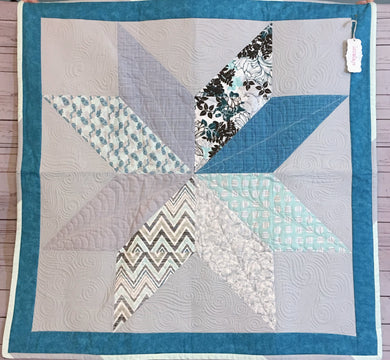 Quilt-  A Star is Born Teal