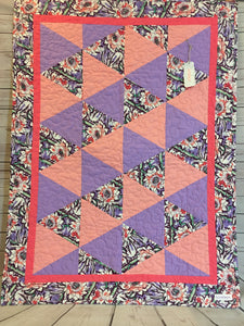 Quilt - Floral Garden Triangles