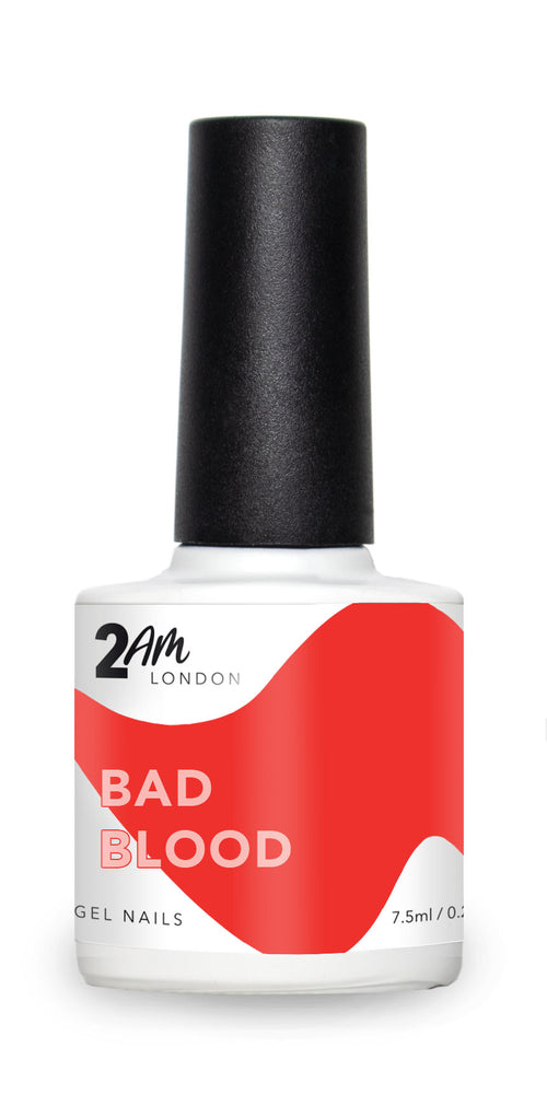 BAD BLOOD 2AM London 7.5ml Gel Polish - Ultimate Hair and Beauty