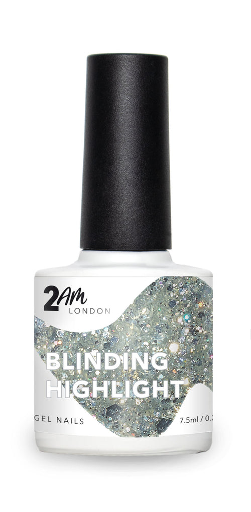BLINDING HIGHLIGHT 2AM London 7.5ml Gel Polish - Ultimate Hair and Beauty