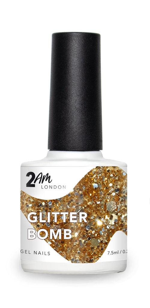 GLITTER BOMB 2AM London 7.5ml Gel Polish - Ultimate Hair and Beauty