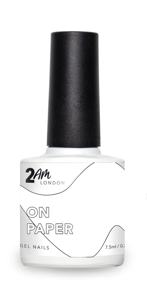 ON PAPER 2AM London 7.5ml Gel Polish - Ultimate Hair and Beauty