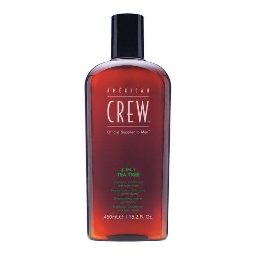American Crew Classic 3-in-1 Tea Tree (450ml) - Ultimate Hair and Beauty