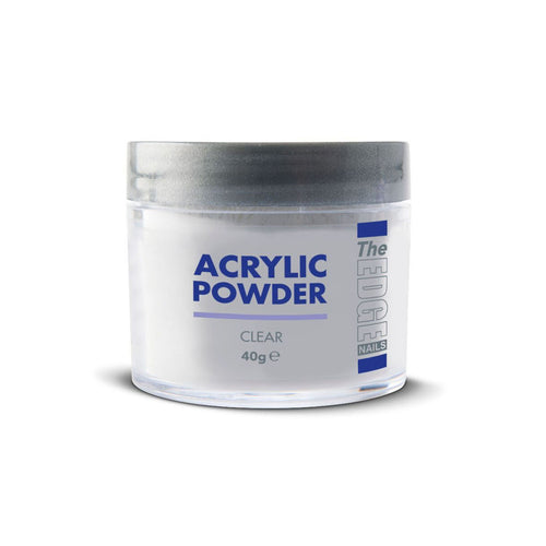 Edge Nails Acrylic Powder - Clear (40g)