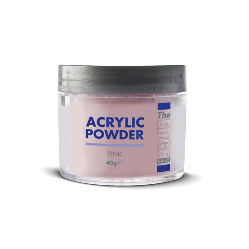 Edge Nails Acrylic Powder - Pink (40g)