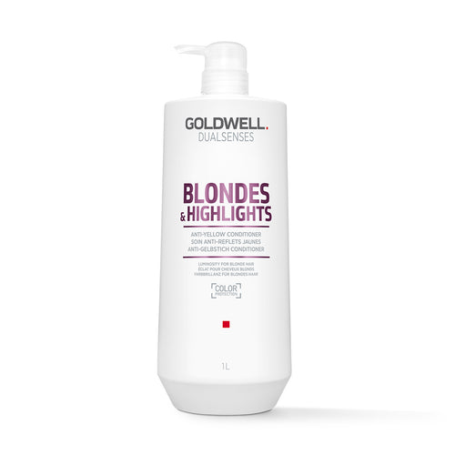 Goldwell DualSenses Blondes & Highlights Conditioner (1000ml) - Ultimate Hair and Beauty