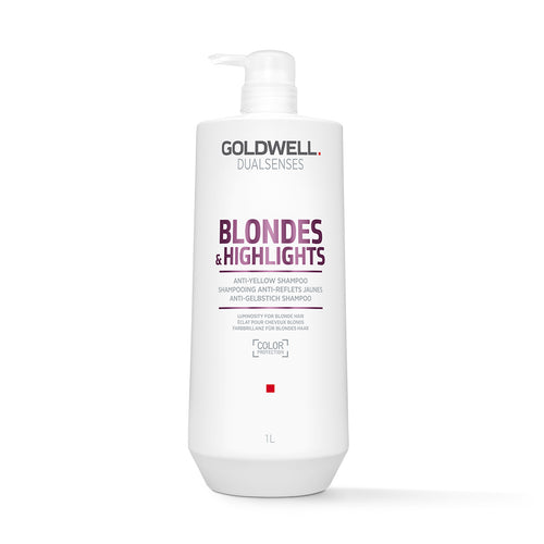 Goldwell DualSenses Blondes & Highlights Shampoo (1000ml) - Ultimate Hair and Beauty