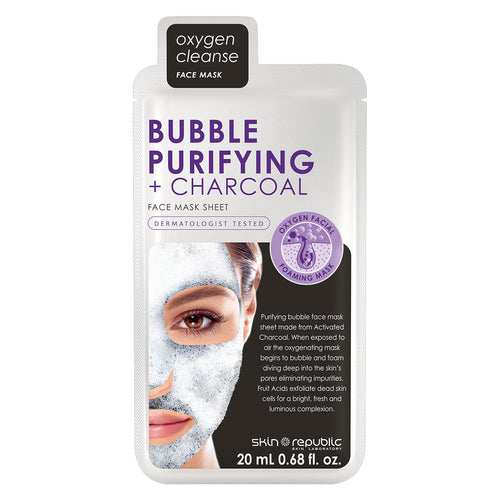 Skin Republic Bubble Purifying & Charcoal Face Mask