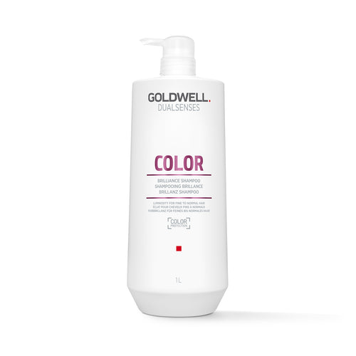 Goldwell DualSenses Color Brilliance Shampoo (1000ml) - Ultimate Hair and Beauty