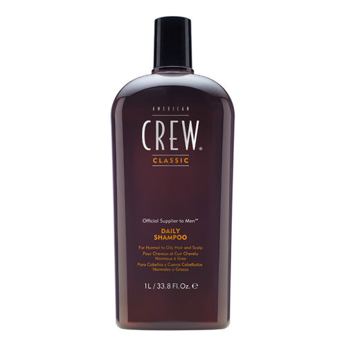American Crew Daily Moisturising Shampoo (1000ml) - Ultimate Hair and Beauty
