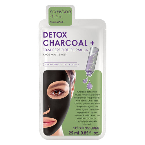 Skin Republic Detox + Charcoal Face Mask