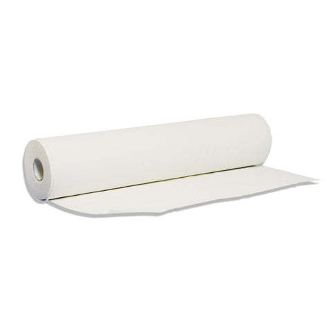 Agenda Embossed White Couch Roll (Twin Pack - Small)