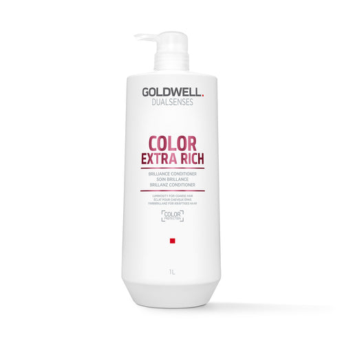 Goldwell DualSenses Color Extra Rich Conditioner (1000ml) - Ultimate Hair and Beauty