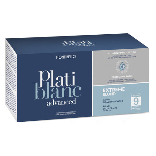 Montibello Platiblanc Advanced Extreme Blond Bleach Powder (500g Twin Pack) - Ultimate Hair and Beauty