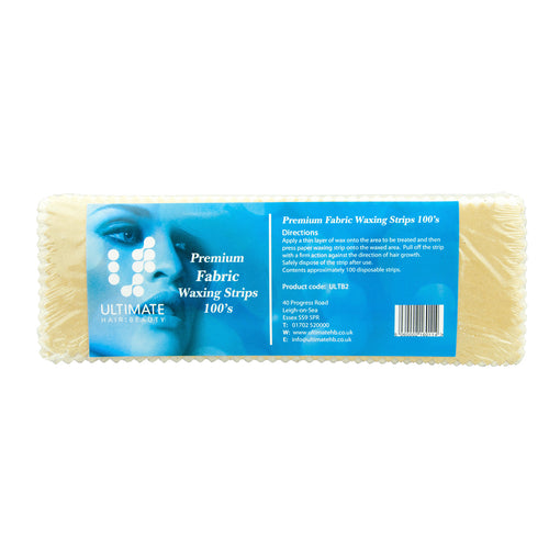 Ultimate Fabric Wax Strips (x100) - Ultimate Hair and Beauty