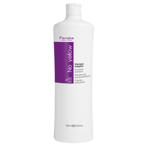 Fanola No Yellow Shampoo (1 litre) - Ultimate Hair and Beauty