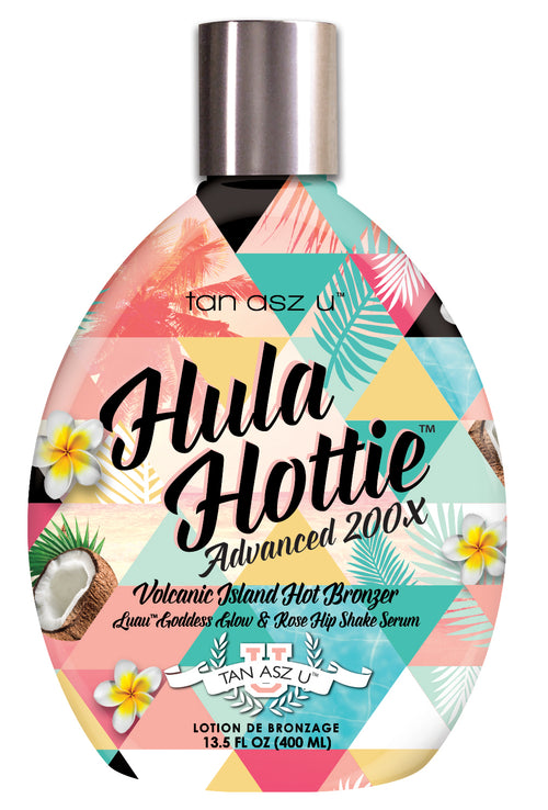 Hula Hottie 400ml Hot Bronzer Sunbed Cream