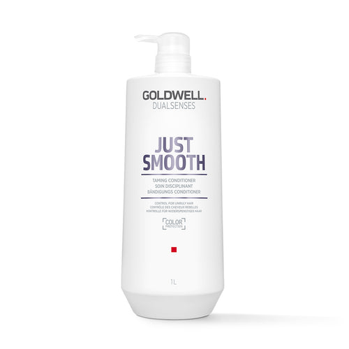 Goldwell DualSenses Just Smooth Conditioner (1000ml) - Ultimate Hair and Beauty