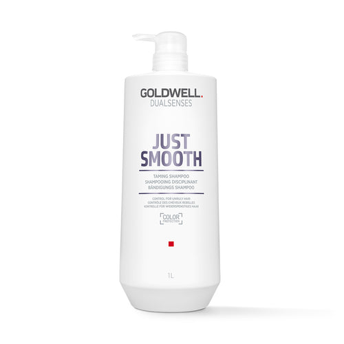 Goldwell DualSenses Just Smooth Shampoo (1000ml) - Ultimate Hair and Beauty