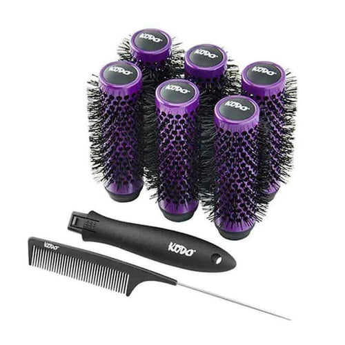 Kodo Lock and Roll Brush Set - Ultimate Hair and Beauty