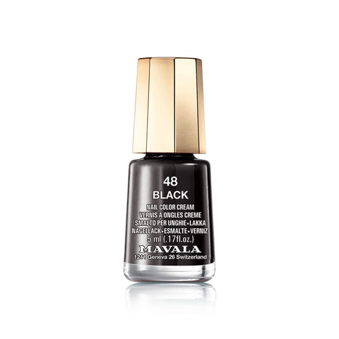 Mavala Nail Polish - Black Oyster (5ml)