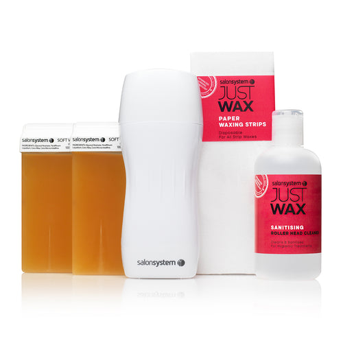 Just Wax Portable Roller Wax Kit - Ultimate Hair and Beauty