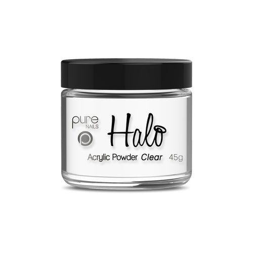 Halo Acrylic Powder - Clear (45g) - Ultimate Hair and Beauty