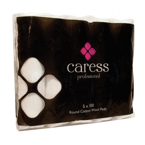 Caress Round Cotton Wool Pads (x500)
