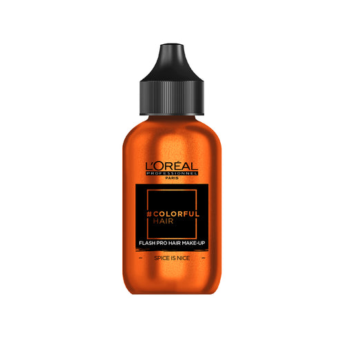 L'Oreal Colorful Hair Flash Pro Hair Make-up - Spice is Nice - Ultimate Hair and Beauty